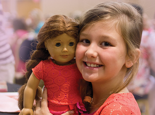 Tea Time American Girl Event